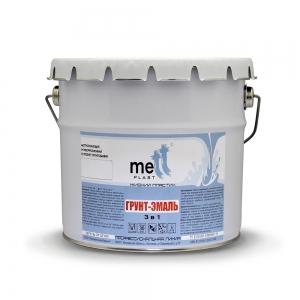 Грунт-эмаль 3 в 1 Mettplast North