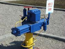 Газовая станция обработанная антикоррозийной краской
